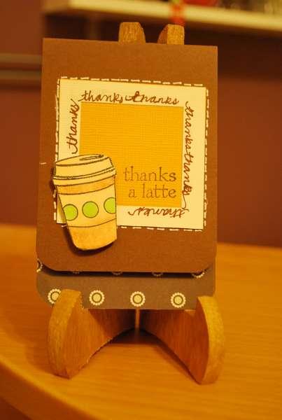 Thanks a Latte Mini Card