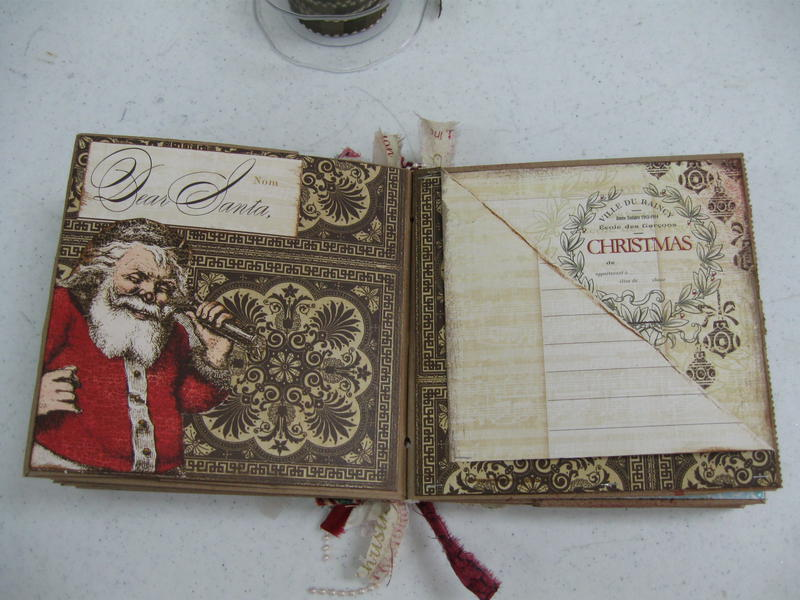 Christmas paperbag book