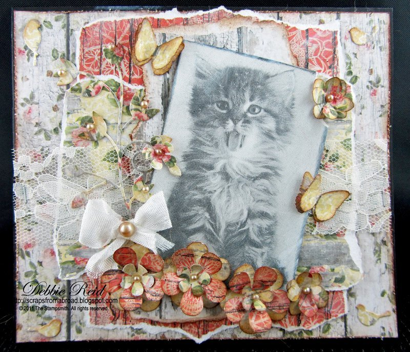 Shabby Chic Kitty