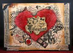 Grunge Valentine Card For My Guy