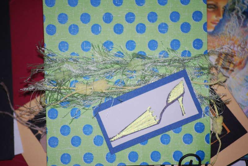 Lime Green Unbrella Shoe