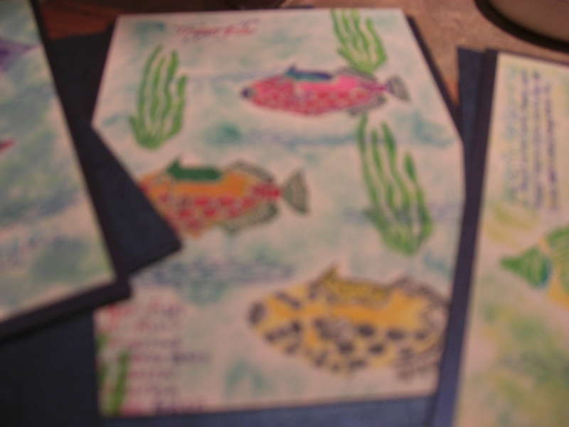 Tropical Fish Stamps