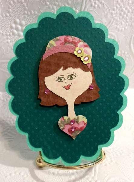 Paper Doll Hat Ladies Embellishments