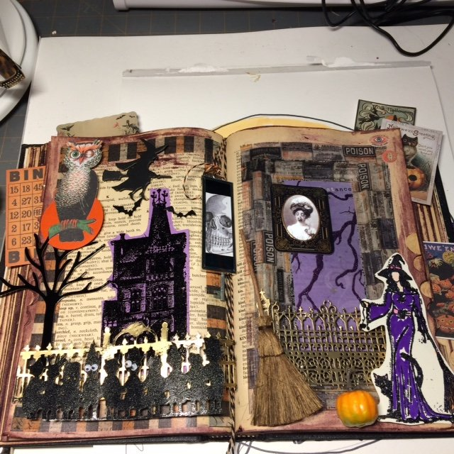 Halloween modified book