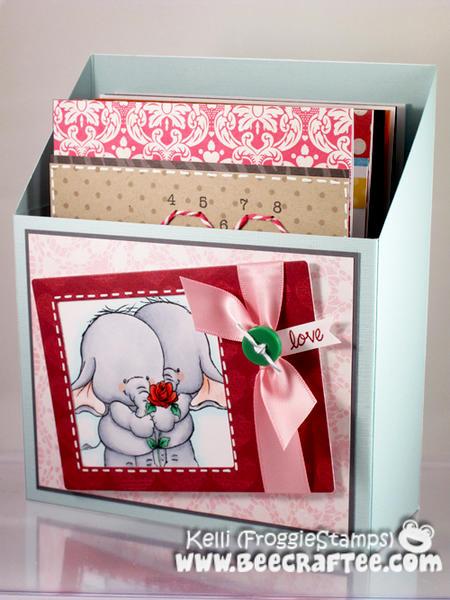 Love Elephants Card Holder