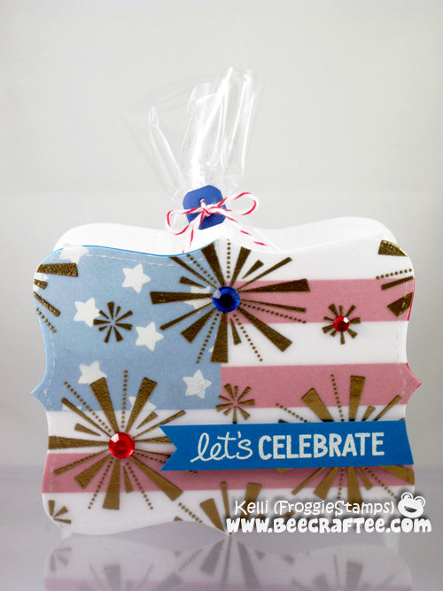 Let's Celebrate - 4th of July Treat Box