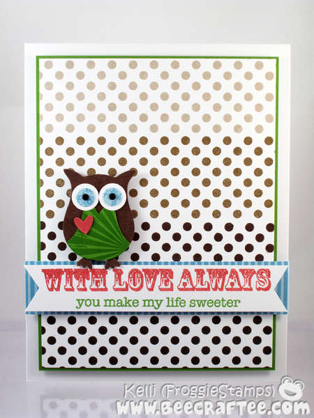 With Love Always Owl