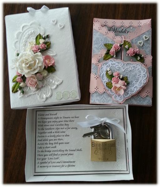 Card, Box and Love Lock