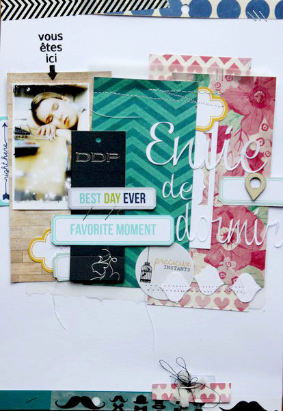 envie de dormir for Scrapbooking A4