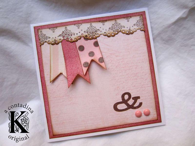 CAS Baby Shower Card **My Mind's Eye**