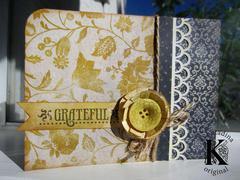 Glitz Gratitude Card