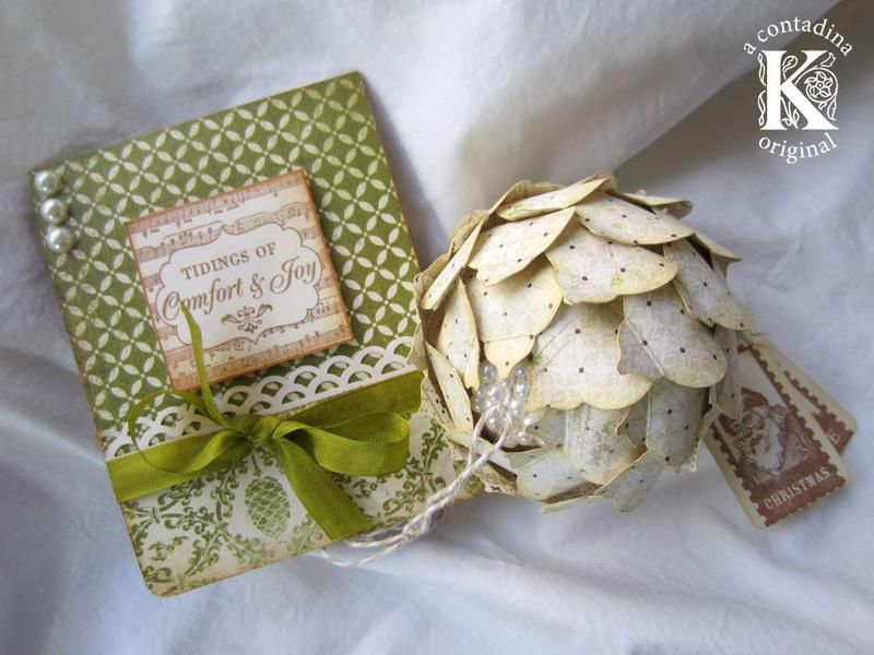 Card and Keepsake Ornament **Handmade Holidays Blog Hop**