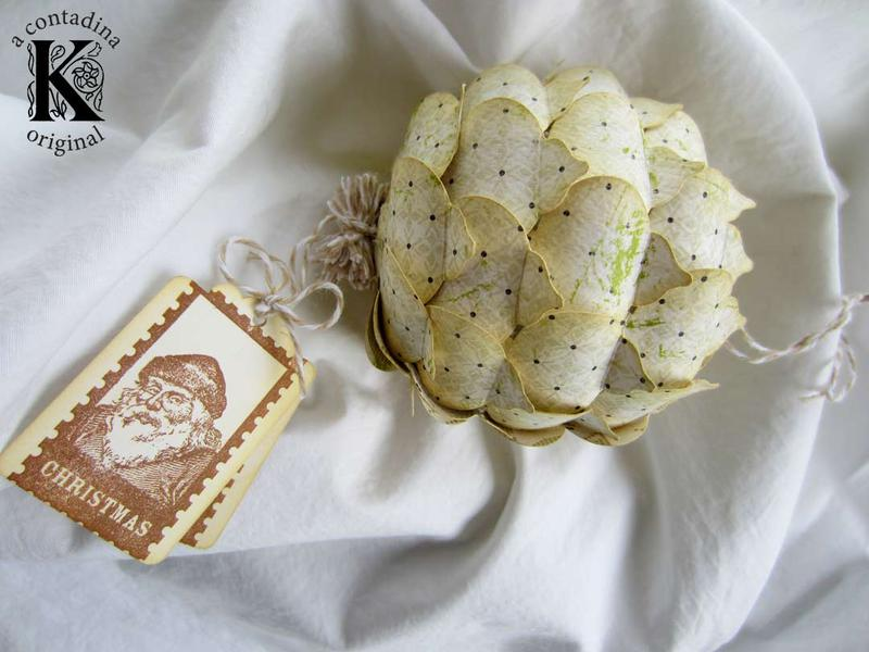 Keepsake Ornament **Handmade Holidays Blog Hop**