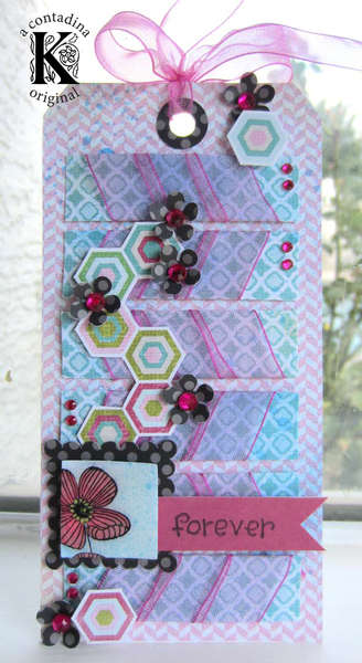 Hampton Art DT Blog Hop with Really Reasonable Ribbon Honoring Breast Cancer Awareness Month