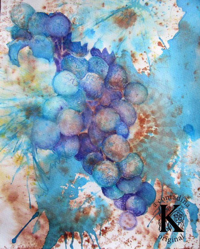 """""""Grapes on the Vine"""" **Scraps of Darkness Educator**"""
