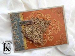 Autumn Card 2 w/ Core'dinations **Sizzix DT**
