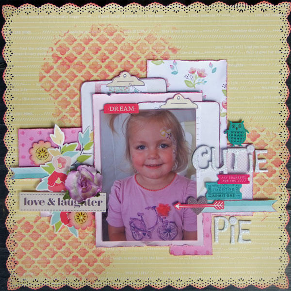 **My Creative Scrapbook** Cutie Pie