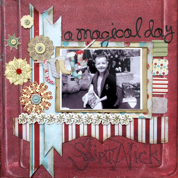 **My Creative Scrapbook** A Magical Day