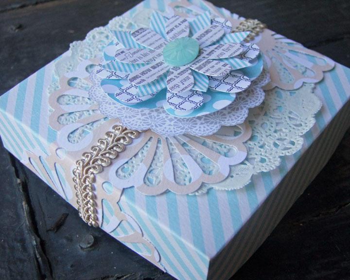 **my creative scrapbook** gift box