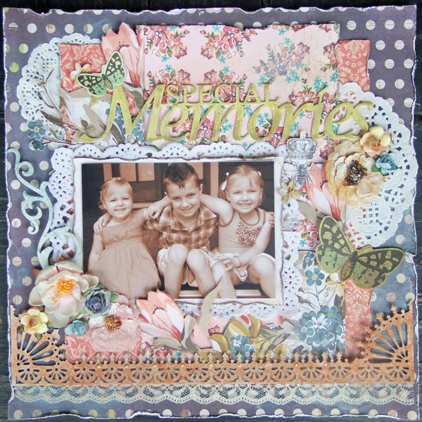 **Imaginarium Designs**My Creative SCrapbook** Special Memories