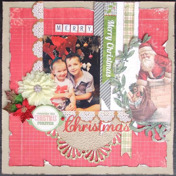 **My Creative Scrapbook** Merry Christmas