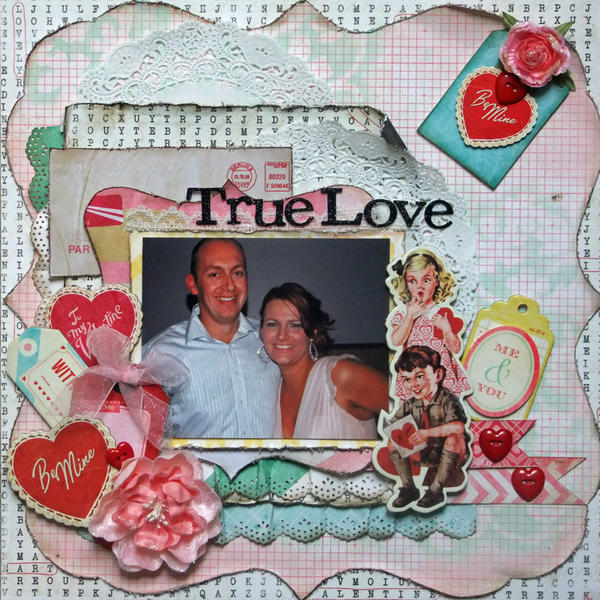 **My creative Scrapbook** True Love