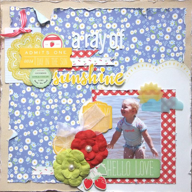 **My Creative Scrapbook** A ray of sunshine