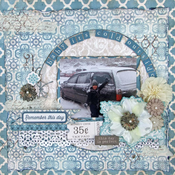 **My Creative Scrapbook** Baby it's cold outside