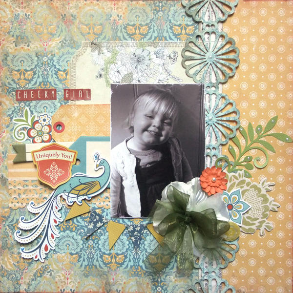 **My Creative Scrapbook** Cheeky Girl