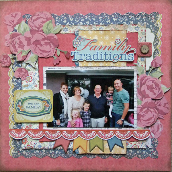 **My Creative Scrapbook** Family Traditions