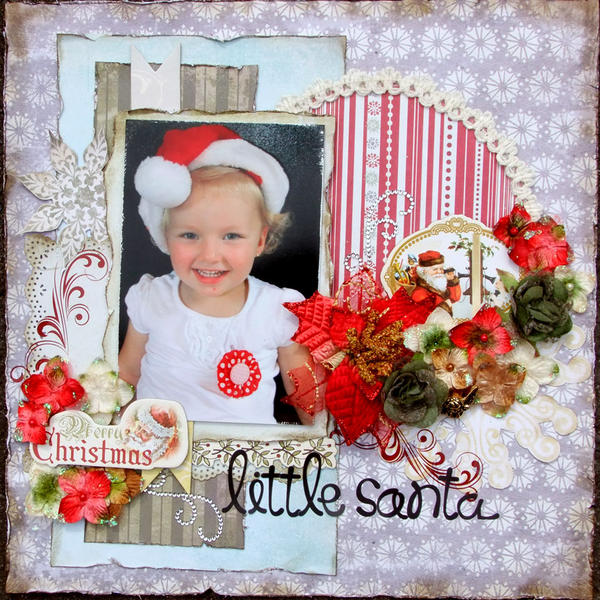 **My Creative Scrapbook** Little Santa