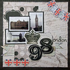 **My Creative Scrapbook** London 98
