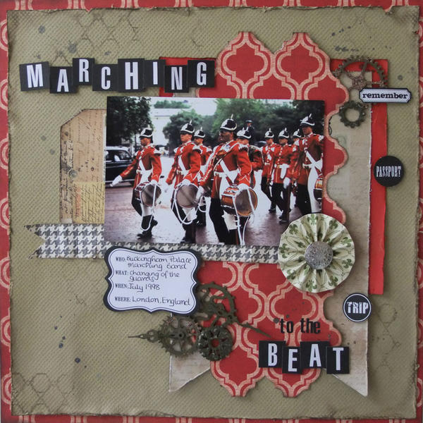 **My Creative Scrapbook** Marching to the beat