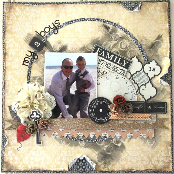 **My Creative Scrapbook** My 2 Boys
