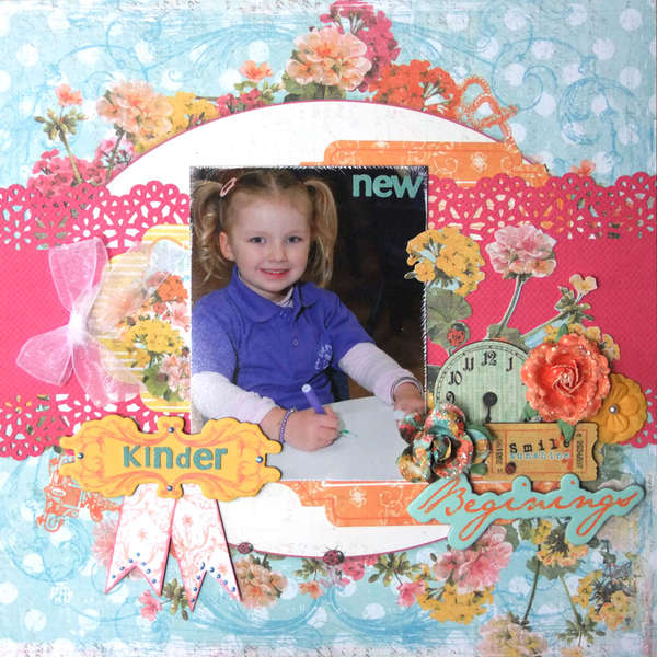 **My Creative Scrapbook**New Beginings