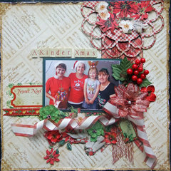 **Sassy Scrappers** A Kinder Xmas
