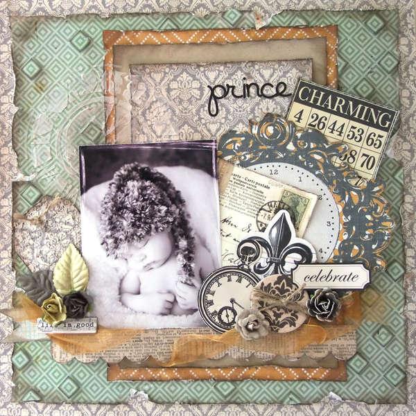 **My Creative Scrapbook** Prince Charming