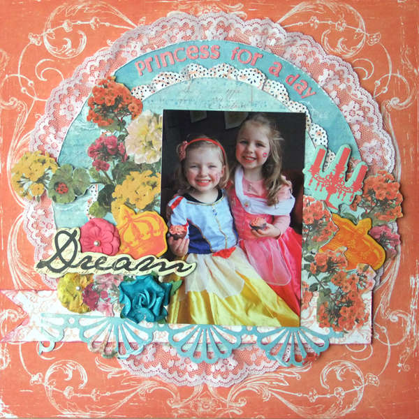 **My Creative Scrapbook**Princess for a day