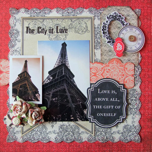 **My Creative Scrapbook** The City of Love