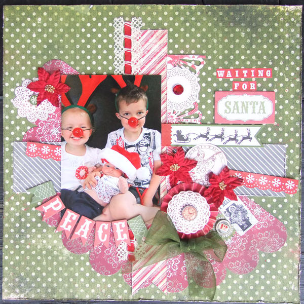 **My Creative Scrapbook** Waiting for Santa