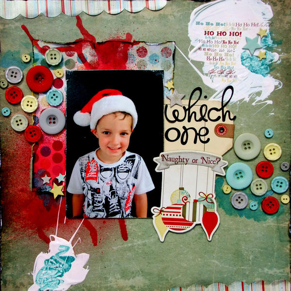 **My Creative Scrapbook** Which One