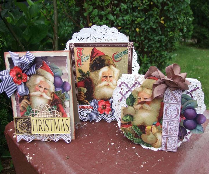 **Meg's Garden** Vintage xmas cards