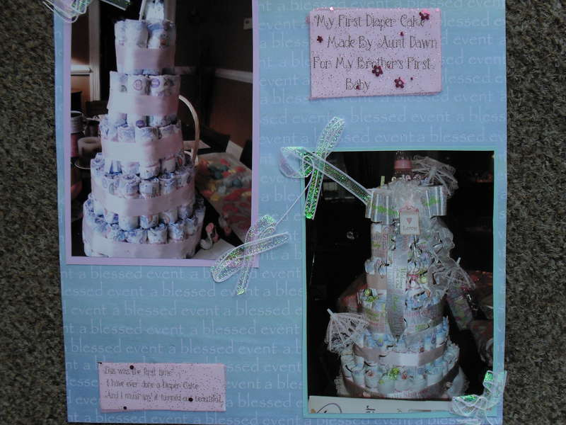***My very First Diaper Cake***