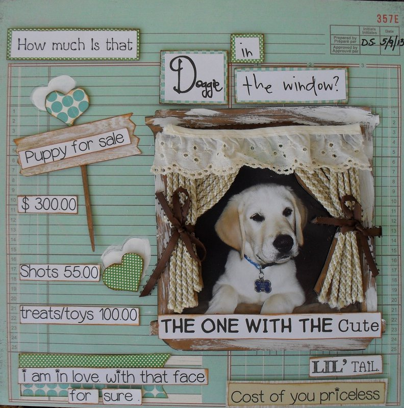 *** How much is that Doggie In the Window***