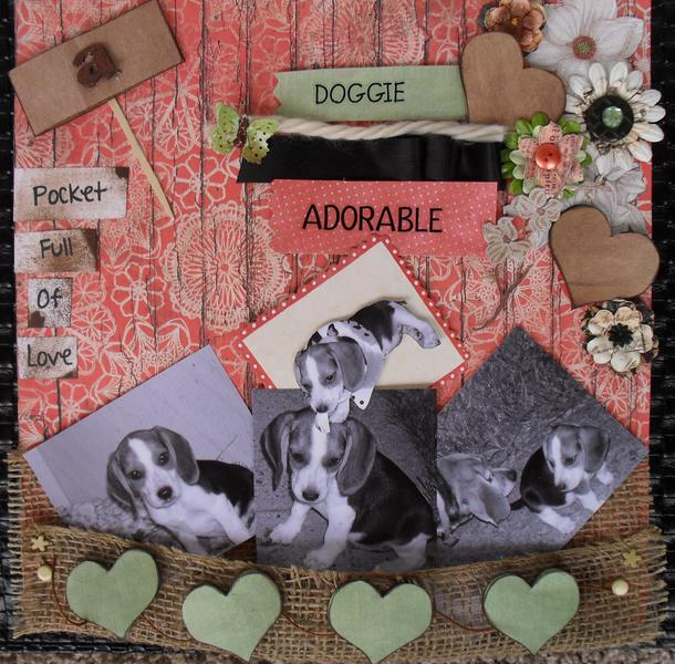*** A Pocket Full Of Love*** Doggie Adorable
