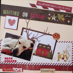 **Waiting on Santa**
