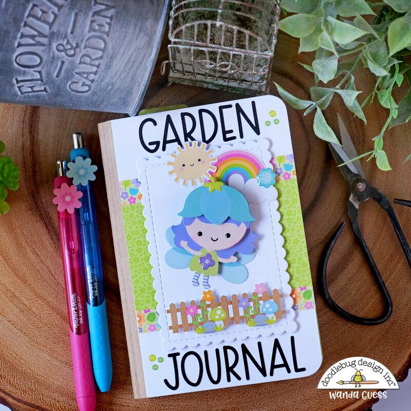 Garden Journal with Doodlebug Fairy Garden Collection!