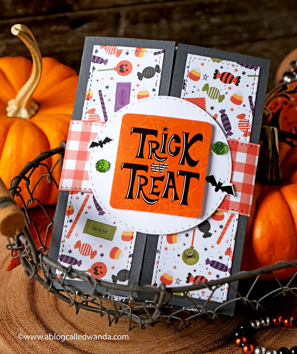 Trick or Treat Shutter Card