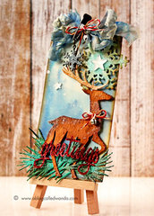 Tim Holtz Christmas Tag