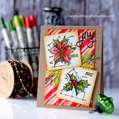 Tim Holtz Vintage Christmas Card